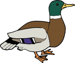 Duck clip art black and white free clipart images.
