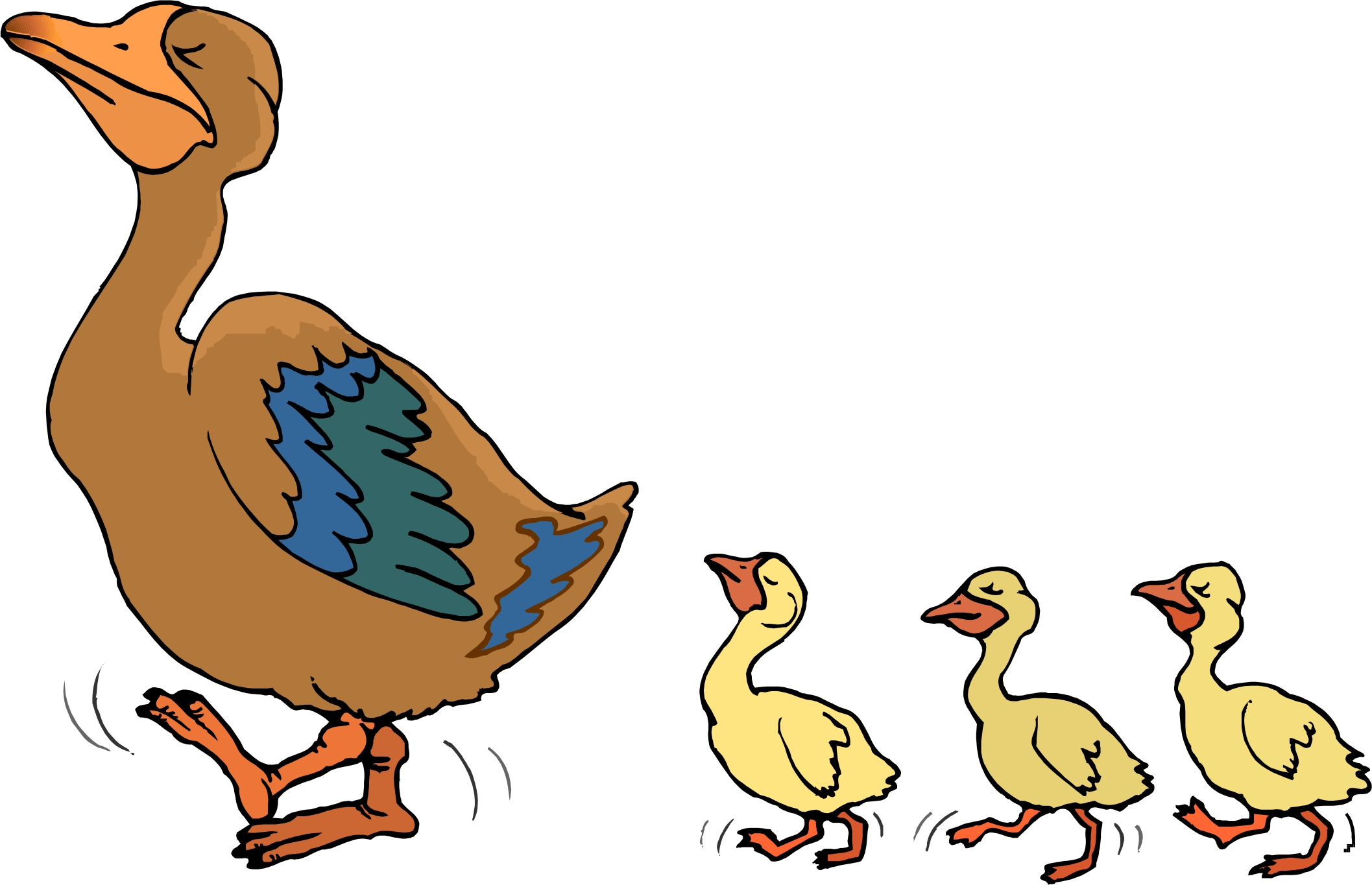 Free Picture Of A Cartoon Duck, Download Free Clip Art, Free.