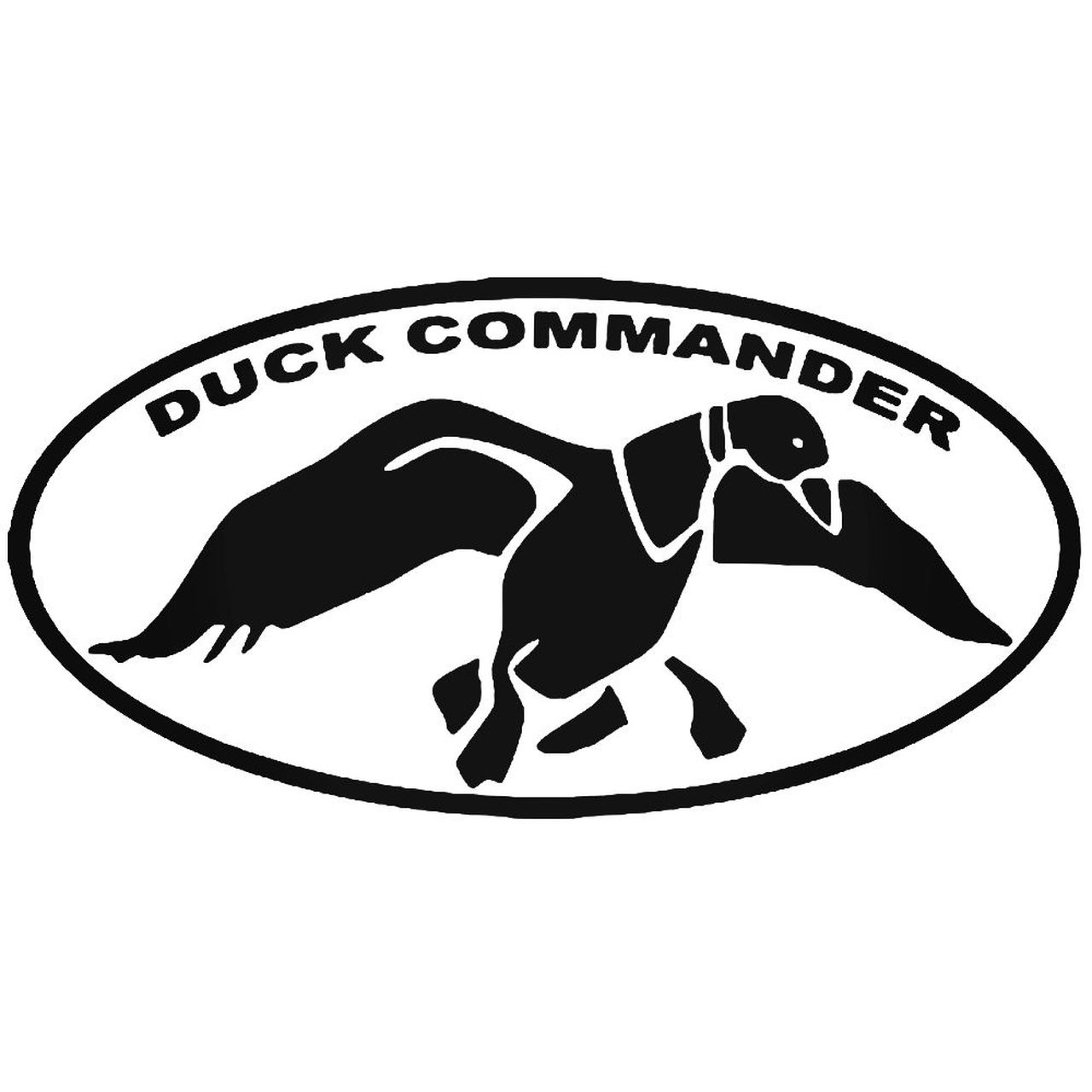 Duck Commander Logo Sticker.