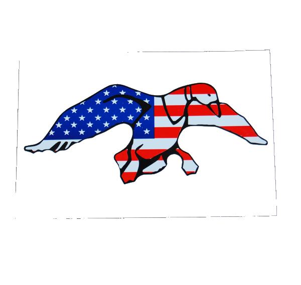 Duck Commander Logo Flag Decal.