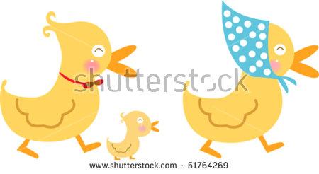 Duck Family Stock Vectors, Images & Vector Art.
