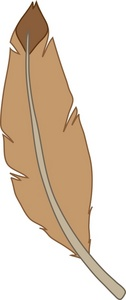Feather Clipart Image.