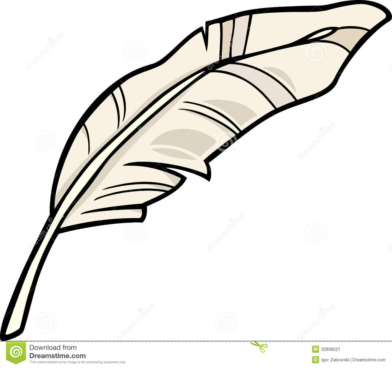 Clipart feather.
