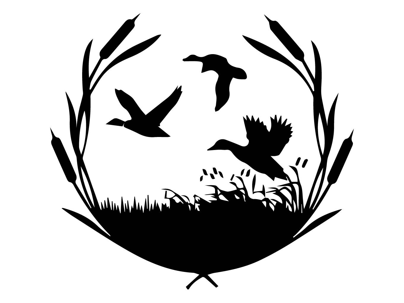 Duck Nature Hunter Hunting Bird Hunt Hobby Weapon Goose Flight .SVG .EPS  .PNG Vector Space Clipart Digital Download Circuit Cut Cutting.