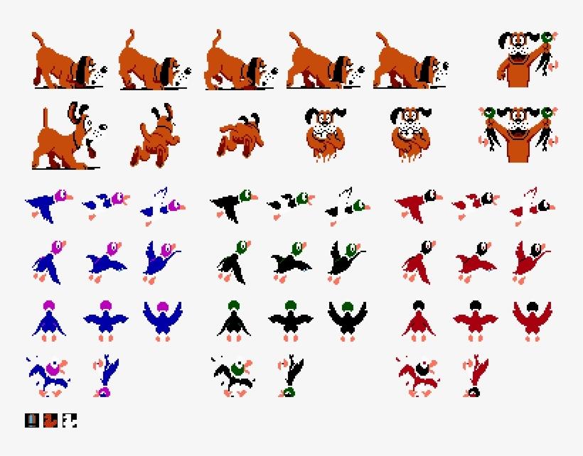 Duck Hunt Duck Png Clip Free Download.