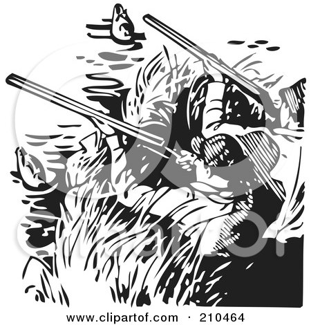 Duck Hunting Clipart Free.