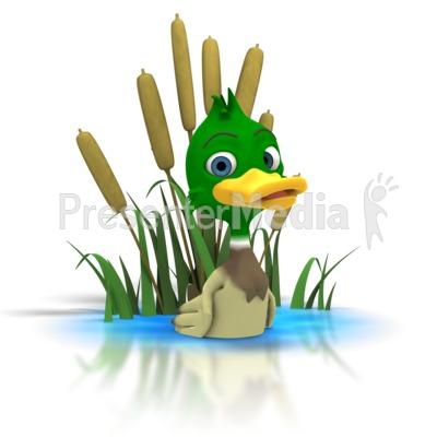 Duck pond clipart - Clipground