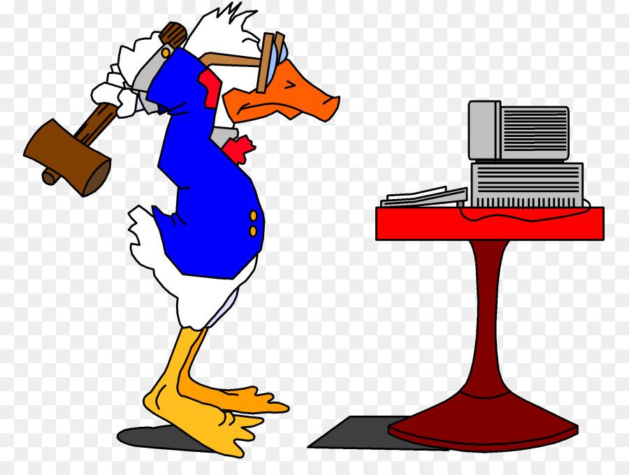 Duck Cartoon clipart.