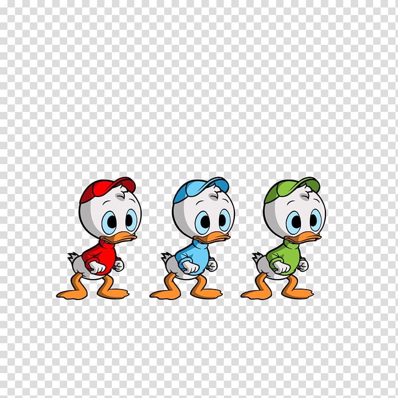 Huey, Dewey and Louie DuckTales Donald Duck Scrooge McDuck.