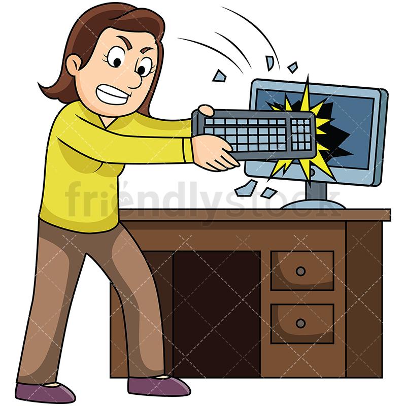 Png Smashing Computer & Free Smashing Computer.png.