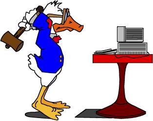 Free Duck Smashing Computer, Download Free Clip Art, Free.