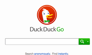 Anonymous search tool DuckDuckGo answered 1bn queries in 2013.