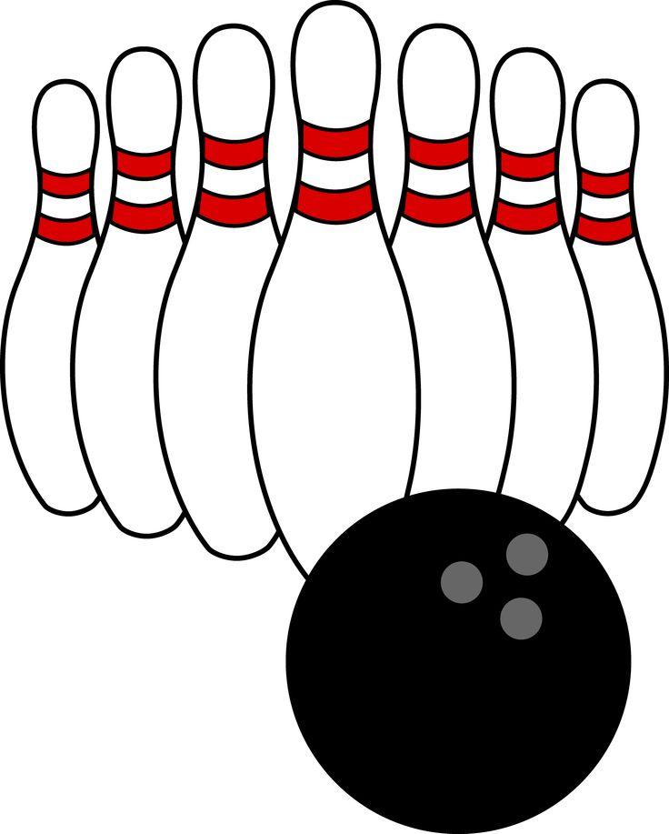 Bowling duckpins clip art at vector clip art.