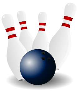 Duckpin Bowling Icon Clip Art Download.