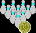 Bowling Duckpins.