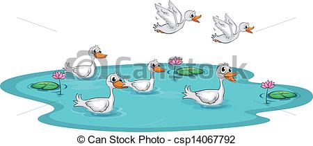 Duck pond Illustrations and Clipart. 629 Duck pond royalty free.