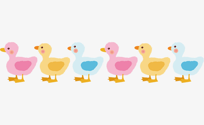 Download Free png Ducks in a row vector, Vector.