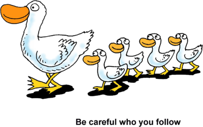 Clipart ducks in a row.