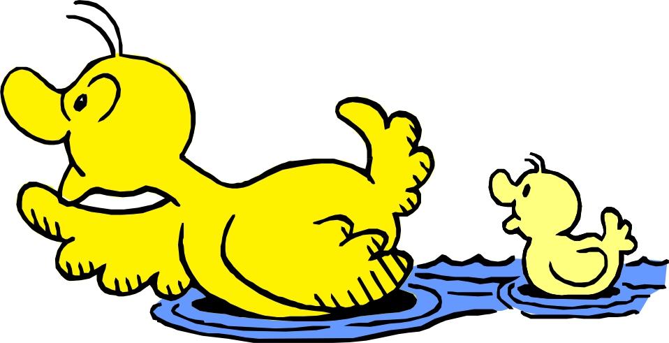 Images Of Cartoon Ducks.