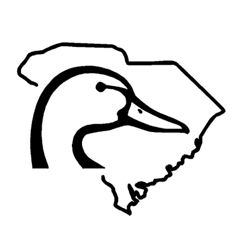 6 Inch South Carolina Ducks Unlimited Decal Sticker.