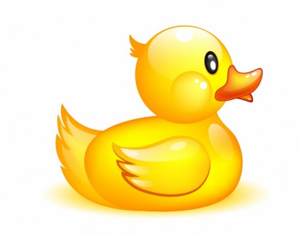 Rubber ducky clipart.
