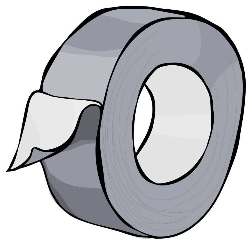 Duct Tape Clip Art Clipart.