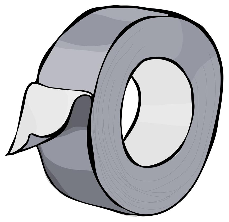 Duct Tape Clip Art Clipart.