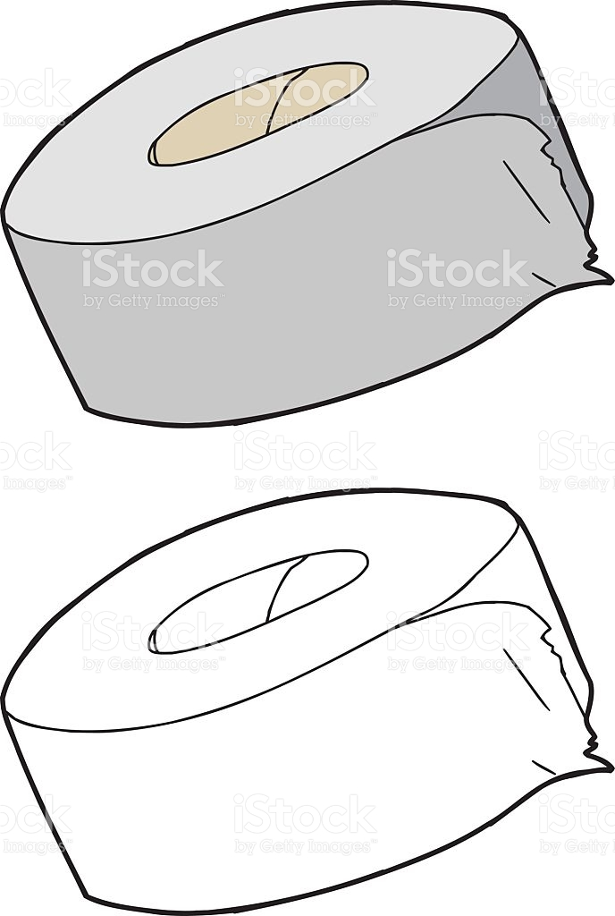 Isolated Duct Tape stock vector art 527611763.