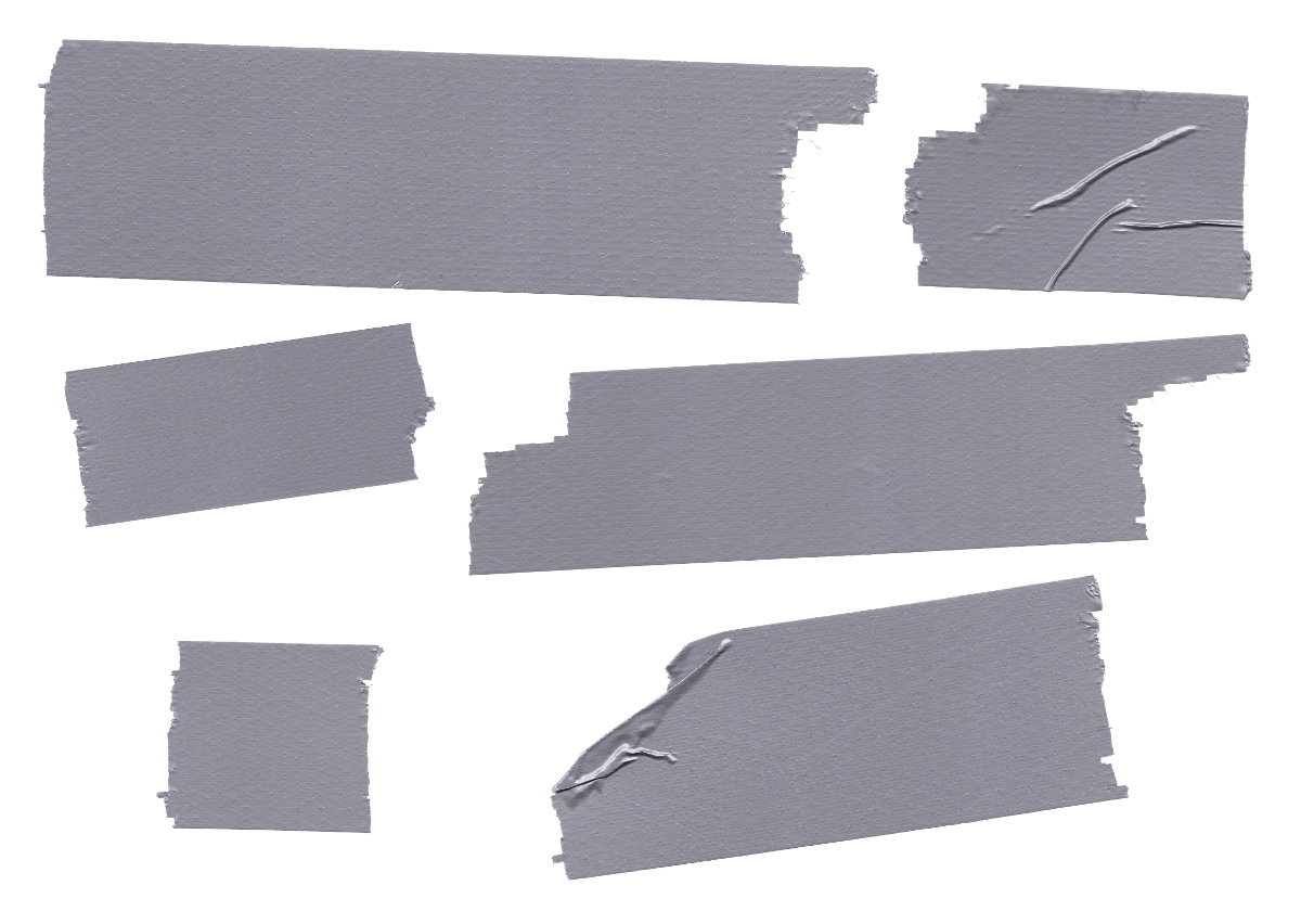 6 Duct Tape (PNG Transparent).