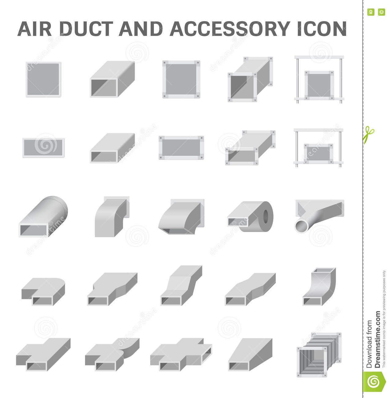 Ductwork Stock Illustrations.