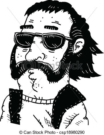 Cool dude Stock Illustrations. 743 Cool dude clip art images and.