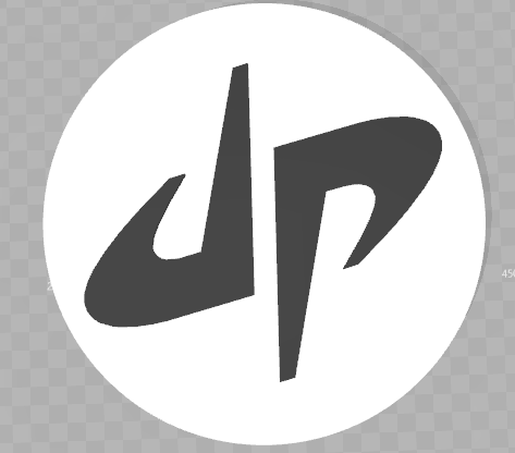 Dude Perfect Logo by dcfrizzle.