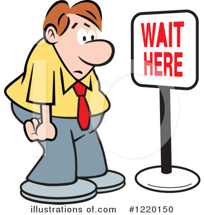 Waiting Clipart.