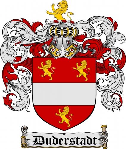 Duderstadt Coat of Arms Duderstadt Family Crest Instant Download.