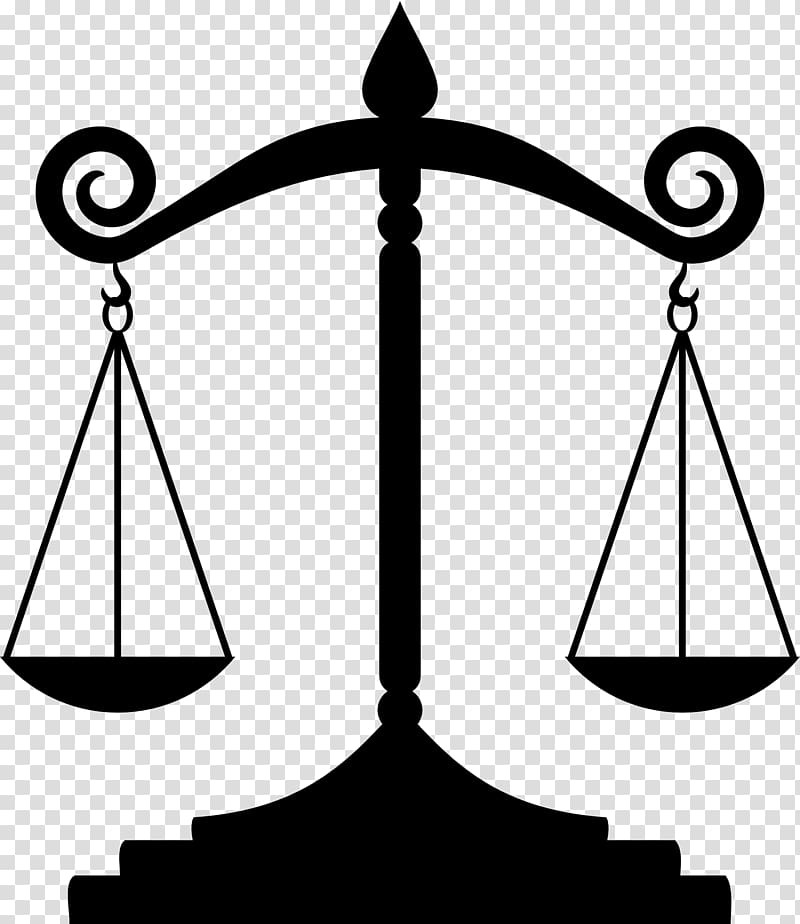Justice Measuring Scales Judge , lawyer transparent background PNG.