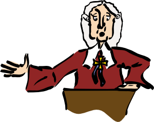 Law clipart due process law.