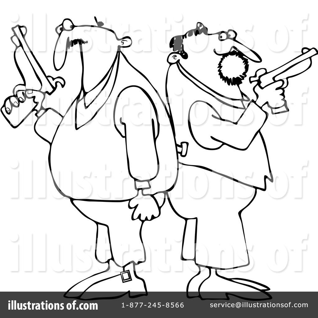 Duel clipart #13