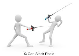 3d man fencers dueling Illustrations and Stock Art. 18 3d man.