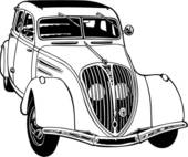 Clip Art of , 1920, 1929, 1930, automobile, car, classic.