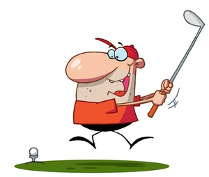 Golf Clipart Image.