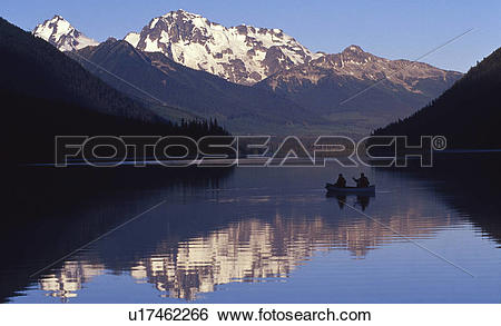Stock Images of Duffey Lake, Duffy Lake, Lillooet County, Cariboo.