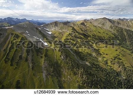Stock Photograph of Cayoosh Valley, Duffy Lake, Hiway 99, Lillooet.