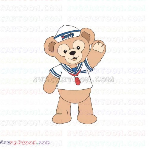 Duffy and Friends svg dxf eps pdf png.