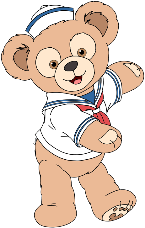 Duffy and Friends Clip Art.
