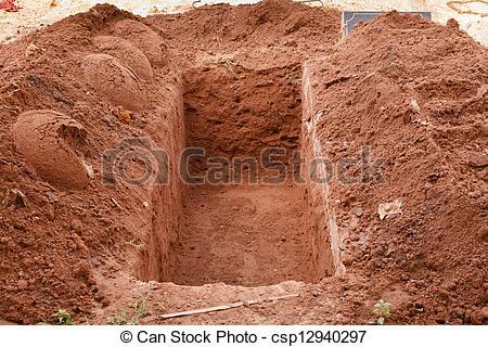 Dug Grave Clipart.