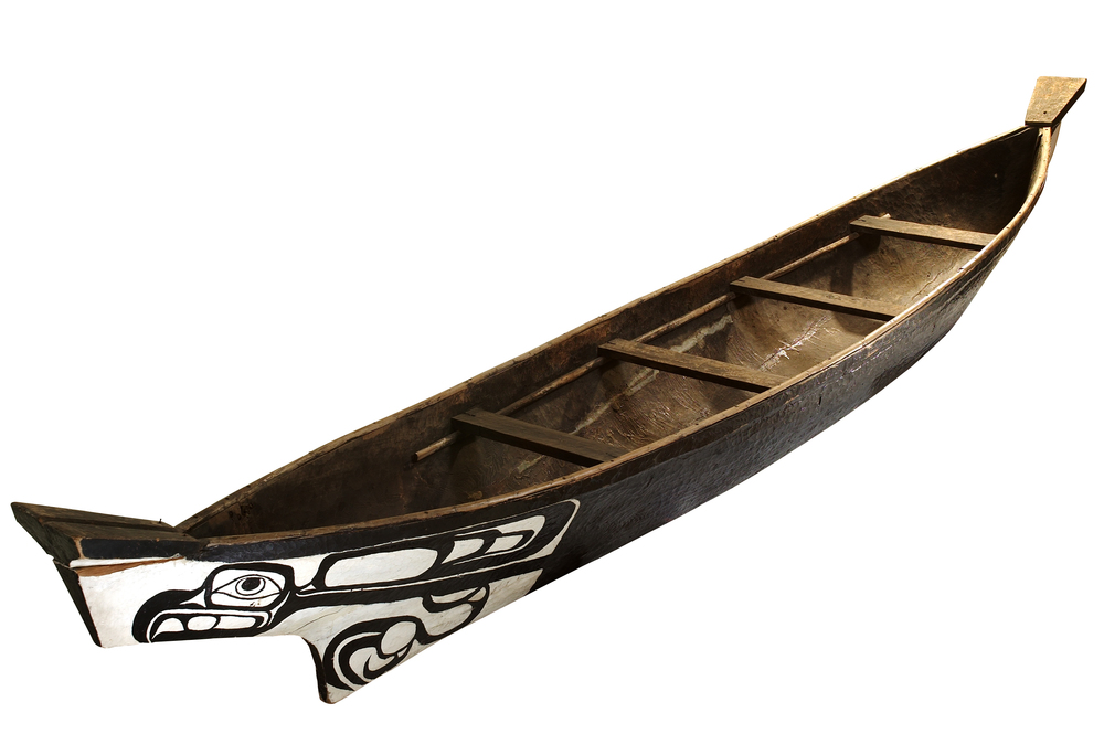 Victor Adams Haida Dugout — Canadian Canoe Museum.