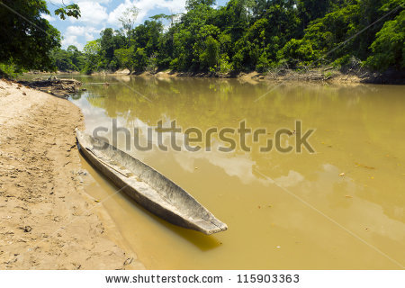 Dugout Boat Stock Photos, Royalty.
