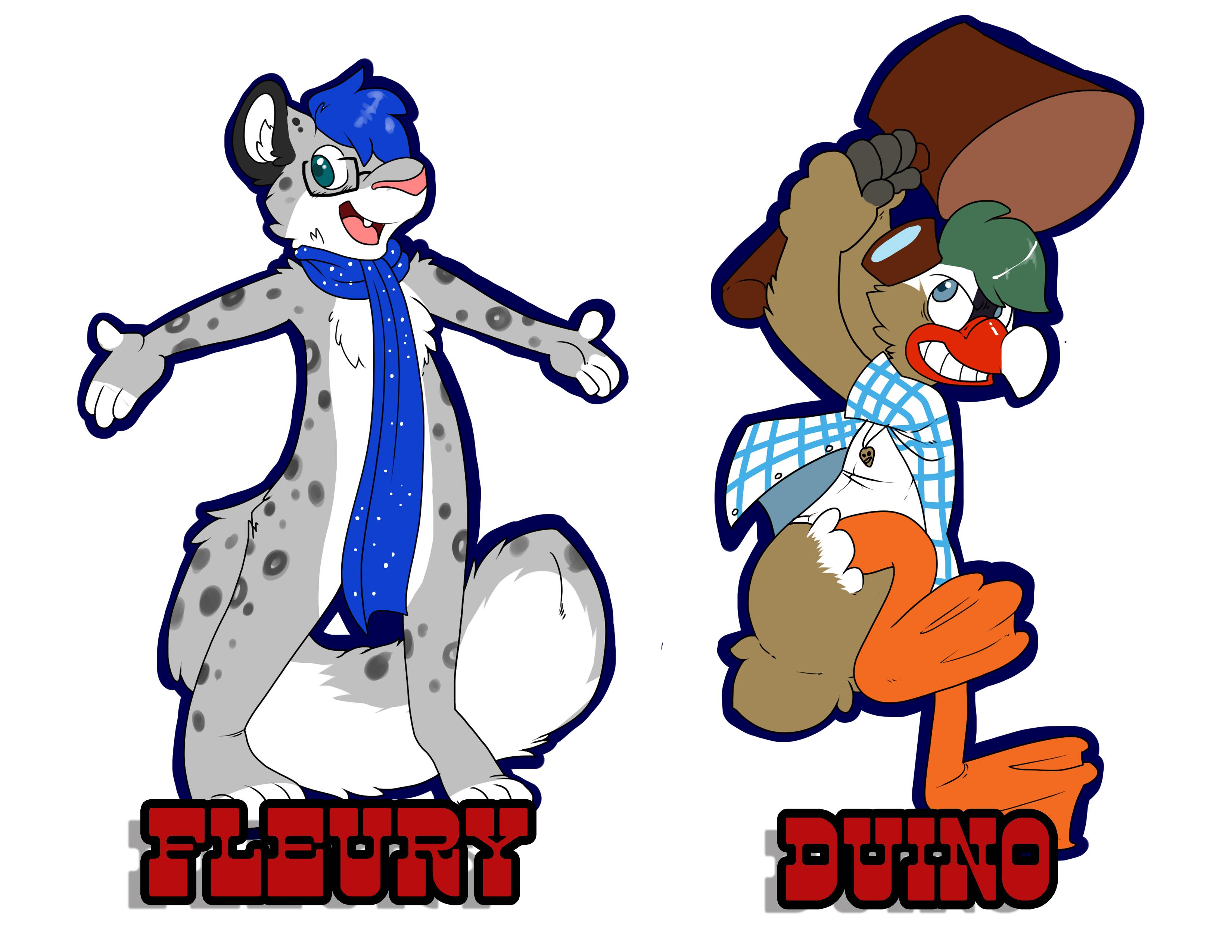 Fleury & Duino Badges.