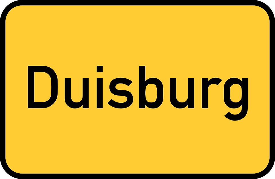 Free vector graphic: Duisburg, Town Sign.
