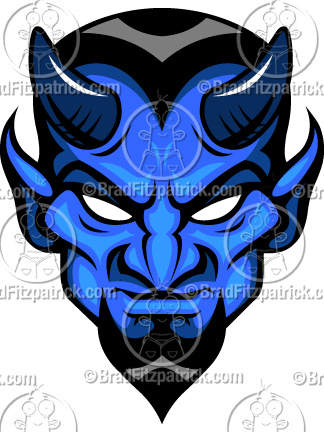 Duke Blue Devil Clip Art.